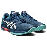 Asics Solution Speed FF Clay Mens - Mako Blue/White