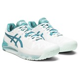 Asics Gel-Resolution 8 Women - White/Lagoon
