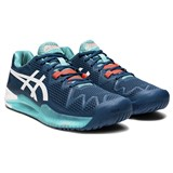 Asics Gel-Resolution 8 Hardcourt Men - Mako Blue/White