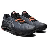 Asics Gel-Resolution 8 L.E. Clay Men - Black/Sunrise Red